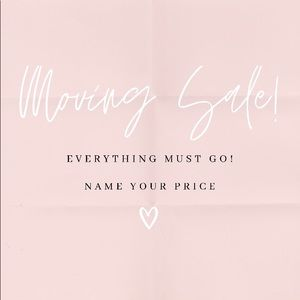 🌸 MOVING SALE 🌸